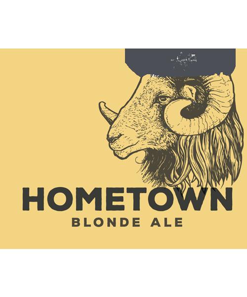 Hometown blonde ale