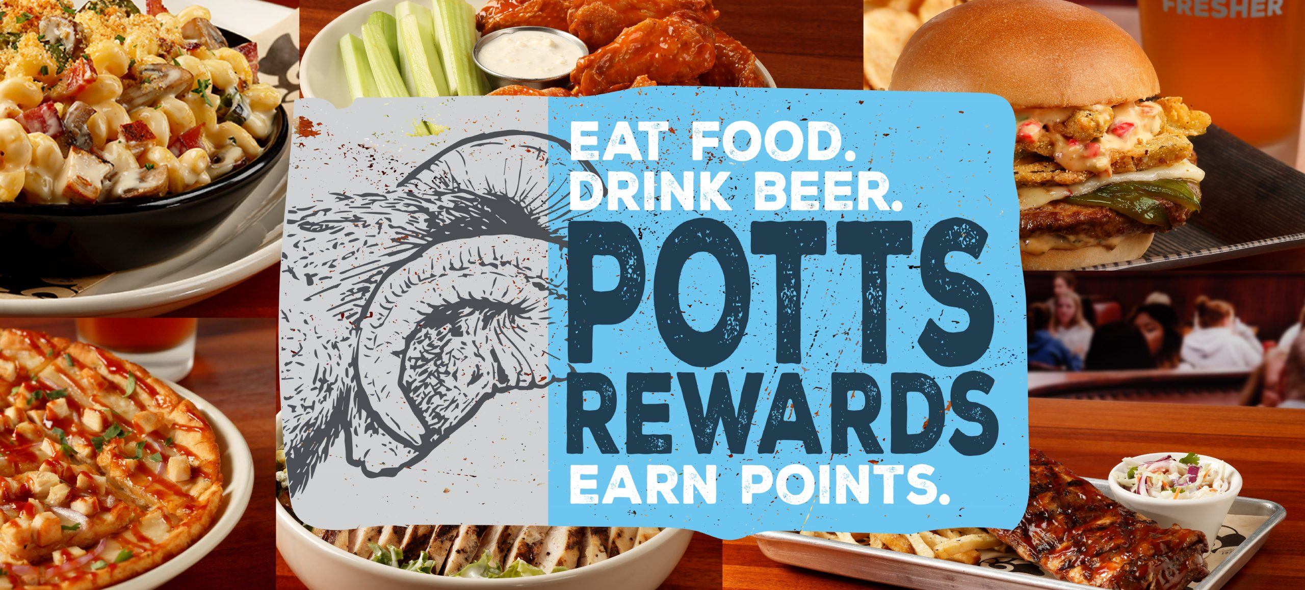 potts rewards program